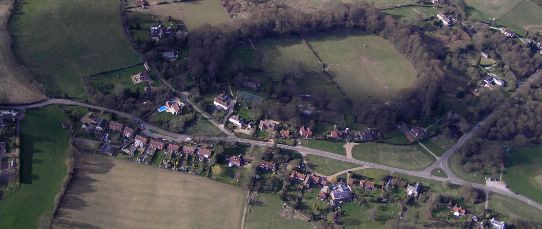 Aerial photograph of Cholesbury